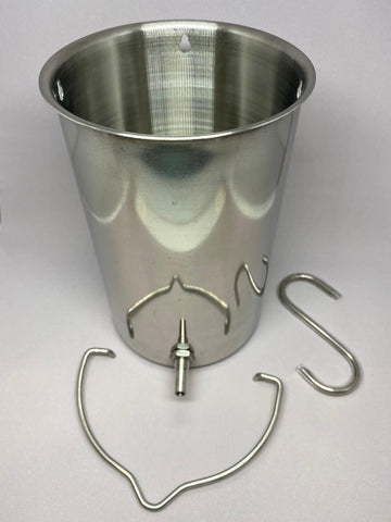 Stainless Steel Enema Bucket Kit | 不銹鋼灌腸套件