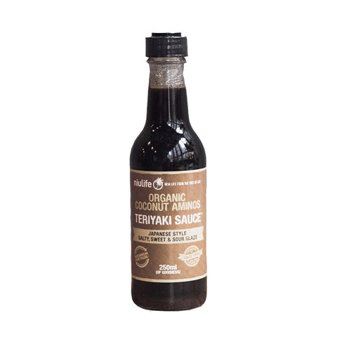 Niulife Certified Organic Coconut Teriyaki Sauce (250ml)| Niulife 有機椰子日式照燒汁 (250毫升)