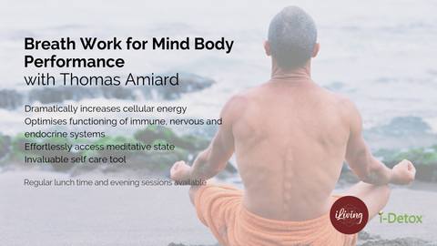 Breath work for Mind Body Performance with Thomas Amiard