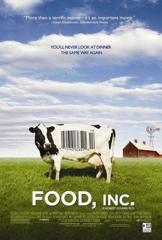DVD : Food, Inc (Blu-Ray)