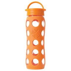 22 oz Glass Beverage Bottle with Classic Cap and Silicone Sleeve (650ml)| 22安士玻璃樽(配矽膠外層)(650毫升)