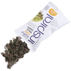 Inspiral Raw Purple Corn Kale Chips| Inspiral 紫玉米羽衣甘藍菜片