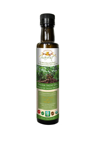Peruvian Harvest Sacha Inchi Omega Oil (250ml) | Peruvian Harvest 奧米加印加果油 (250ml)