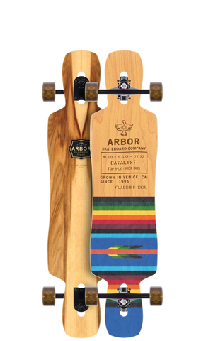 Arbor: Catalyst Flagship - Complete Longboard Skateboard