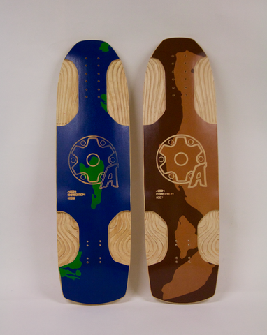 AEON Skate Co- Expedition Longboard Skateboard Deck