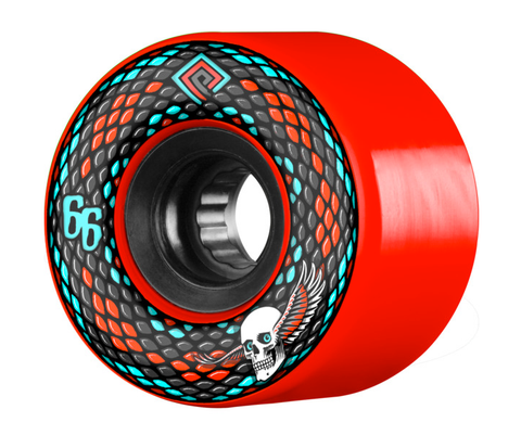 Powell Peralta: 66mm Snakes 75a SSF Longboard Skateboard Wheels