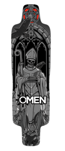 "Omen: 36"" Dreadnought Longboard Skateboard Deck"