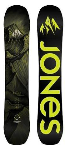 Jones: Explorer Snowboard Deck