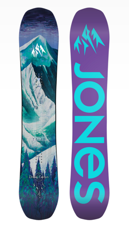 Jones: 2018 Dream Catcher Women's Snowboard Deck