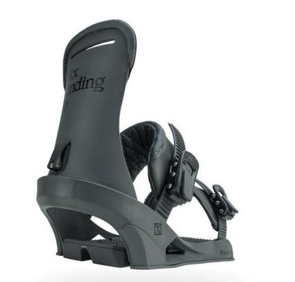 Fix: Winslow Snowboard Bindings (Charcoal)