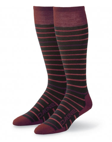 Dakine: Thinline Women's Socks (Black/Andorra)