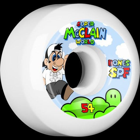 Bones: Brad Mcclain Super Skateboard Wheels - Motion Boardshop