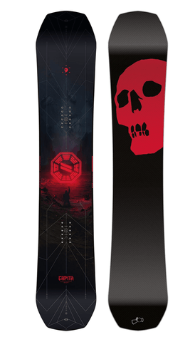 Capita: 2020 The Black Snowboard of Death Snowboard Deck - Motion Boardshop