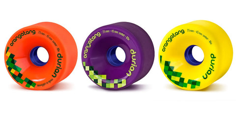 Orangatang: 75mm Durian Longboard Skateboard Wheels