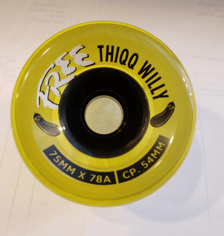 Free Wheel Co: Free Thiqq Willy Longboard Wheels - Motion Boardshop