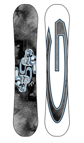 GNU: 2021 Carbon Credit Snowboard Deck - Motion Boardshop