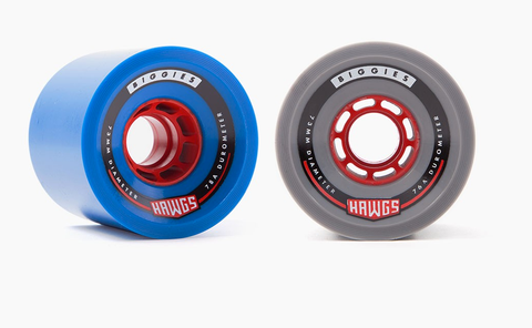 Hawgs: 73mm Biggie Hawgs Longboard Skateboard Wheel - Motion Boardshop