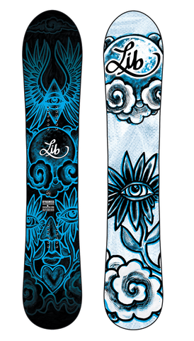 LibTech: 2021 Dynamiss Women's Snowboard Deck - Motion Boardshop