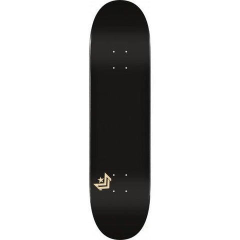 Mini Logo: Chevron Black Skateboard Deck - Motion Boardshop