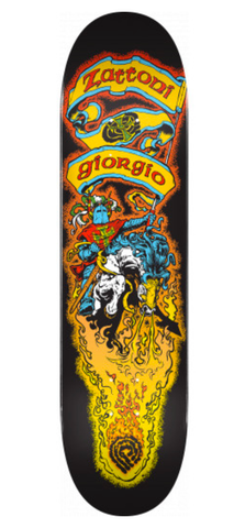 "Powell: Pro Giorgio Zattoni 8"" Skateboard Deck - Motion Boardshop"