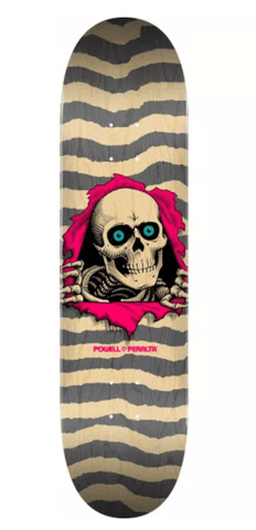 "Powell: Ripper Gray 8.25"" Skateboard Deck - Motion Boardshop"
