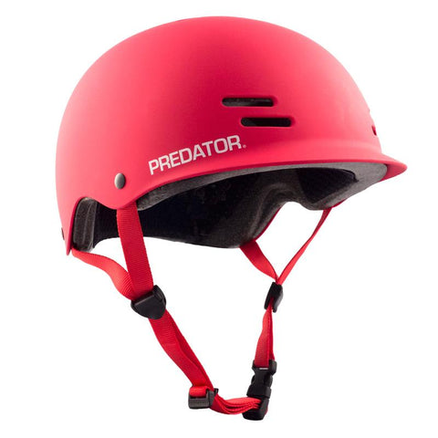 Predator: The FR7 Skateboard Helmet [Red] - Motion Boardshop