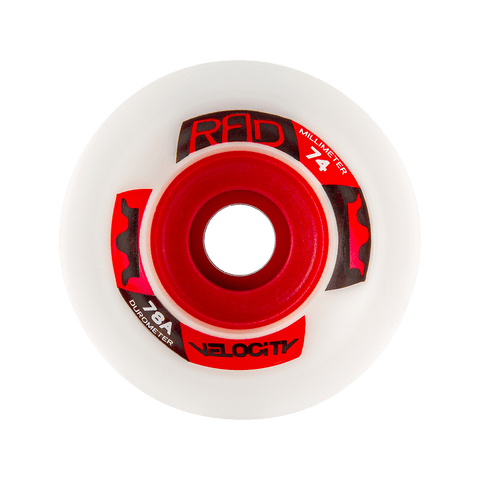 RAD: 74mm Velocity Longboard Skateboard Wheels - Motion Boardshop