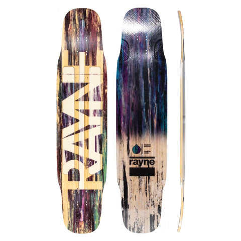 "Rayne: Limited Edition Deelight Whip 41"" Longboard Deck"