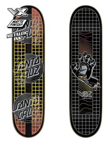 Santa Cruz: 7.75in x 31.61in Transcend Dots VX Deck Skateboard Deck - Motion Boardshop
