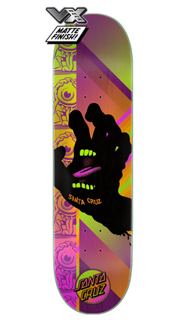 Santa Cruz: 8.0in x 31.6in Afterglow Hand VX Skateboard Deck - Motion Boardshop