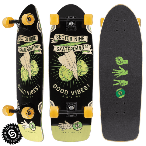 Sector 9: Roshambo Fat Wave Longboard Skateboard Complete - Motion Boardshop