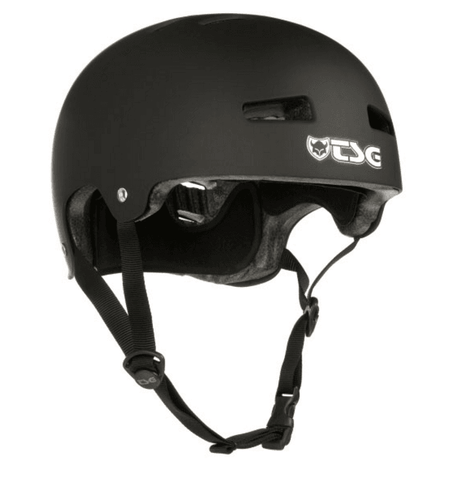 TSG: Evolution Helmet Satin Black - Motion Boardshop