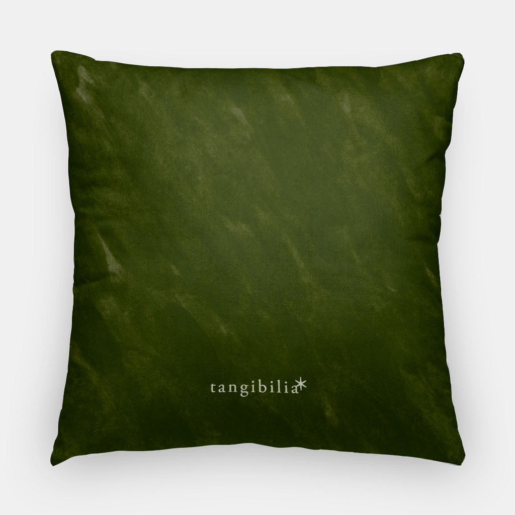 Throw pillow | Square | Forsythia Pattern | Seasons Collection | 2 Sizes | Insert optional