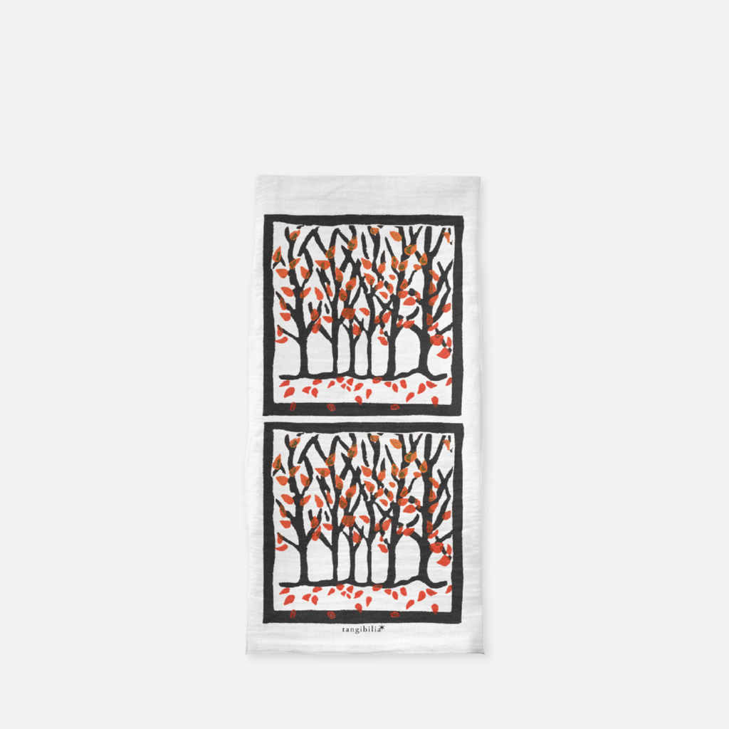 Classic flour sack towel | Autumn | Trees Collection