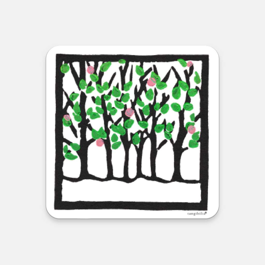 Coaster | Spring Pattern | Trees Collection