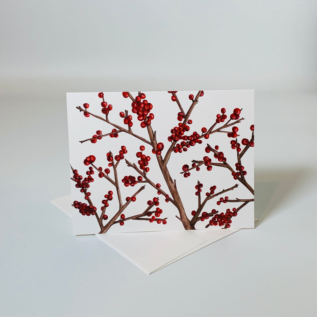 Greeting card | Winterberry | Seasons Collection