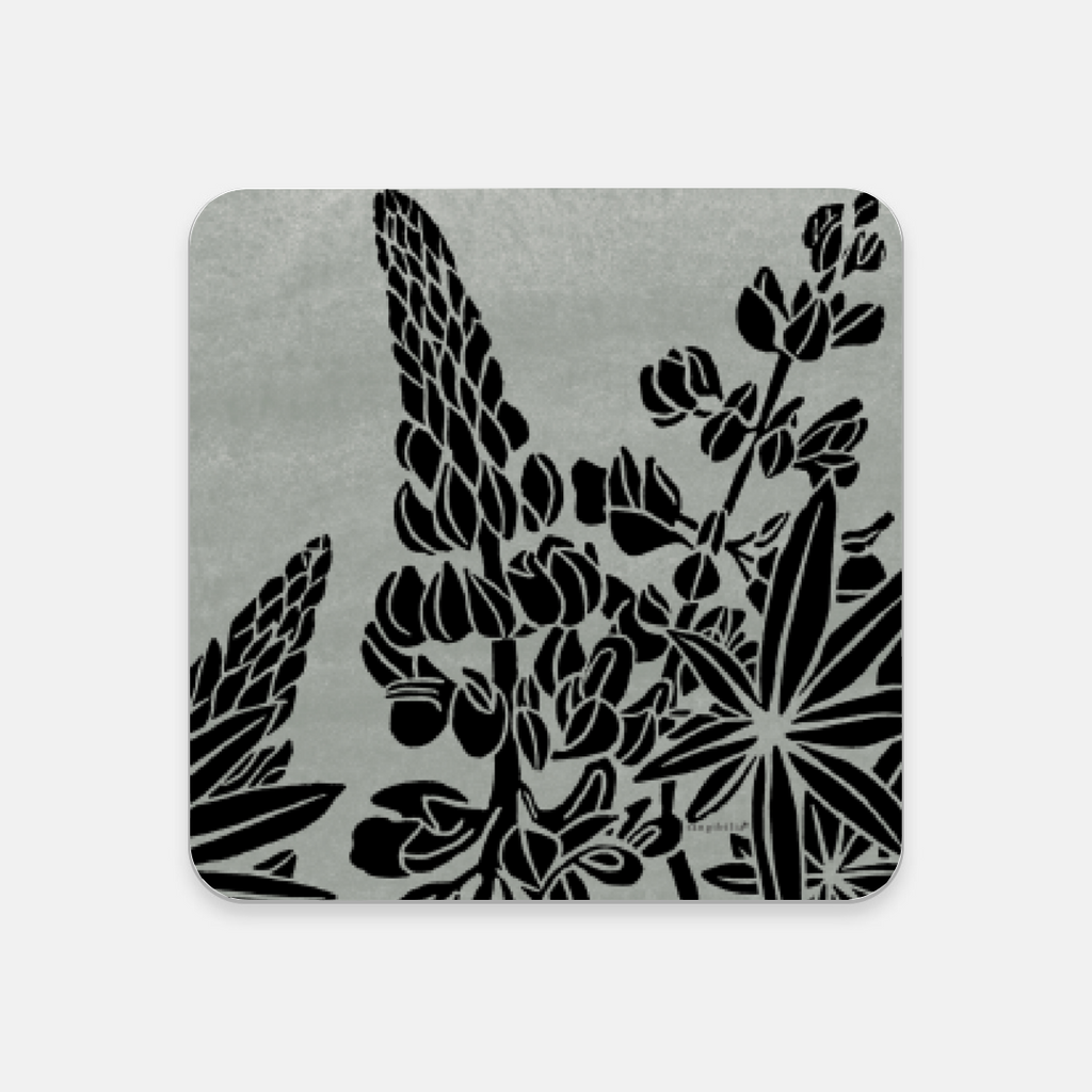Coaster | Wild Lupine Pattern | Native Flowers Collection