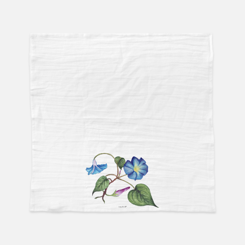 Classic flour sack towel | Morning Glory | Seasons Collection
