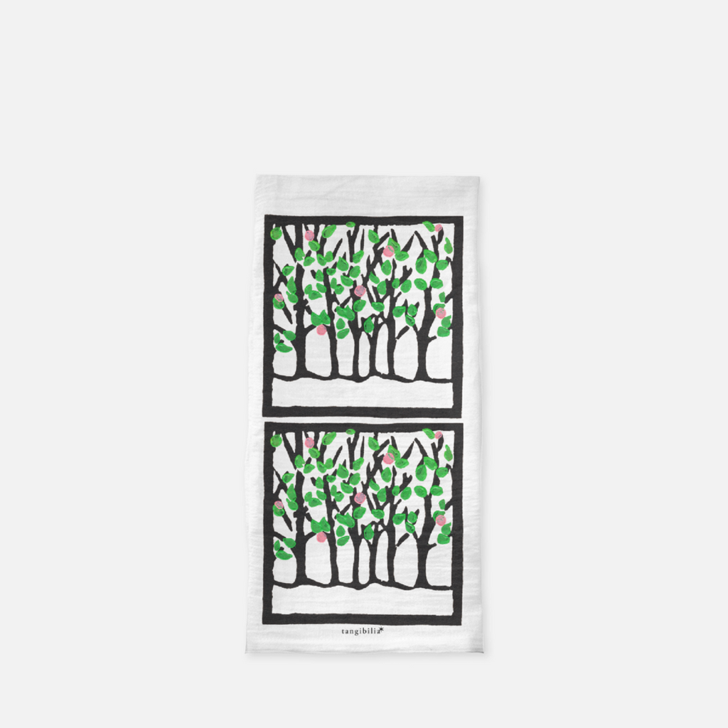 Classic flour sack towel | Spring | Trees Collection