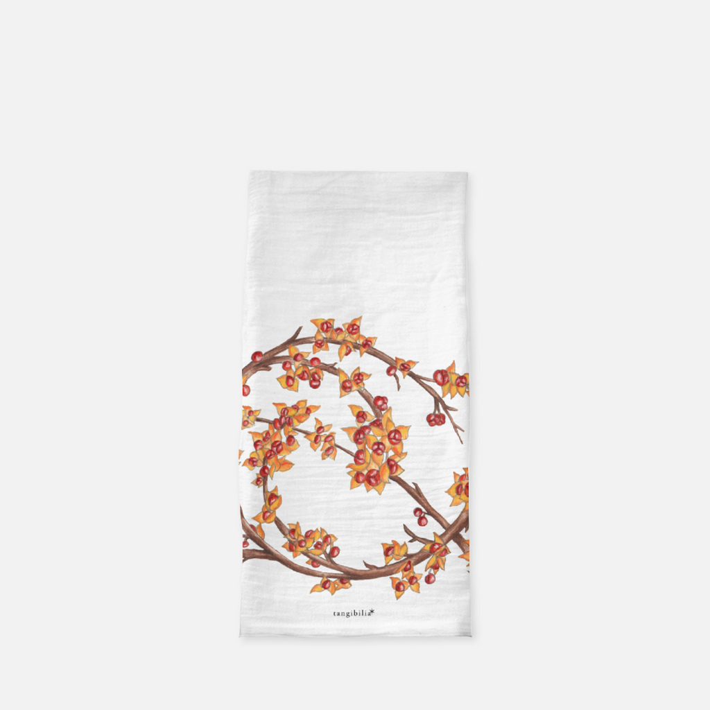 Classic flour sack towel | Bittersweet | Seasons Collection