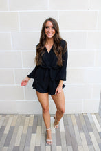Load image into Gallery viewer, Jessie Romper - Black