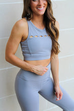 Load image into Gallery viewer, Harper Sports Bra - Grey