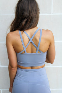 Harper Sports Bra - Grey