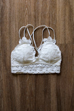 Load image into Gallery viewer, Sadie Bralette - White
