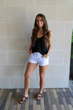 Load image into Gallery viewer, Jenna Linen Shorts - White