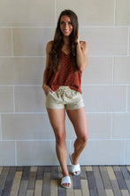Load image into Gallery viewer, Jenna Linen Shorts - Taupe