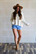 Load image into Gallery viewer, Hallie Sweater - Ivory