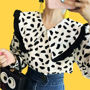 Cow Blouse