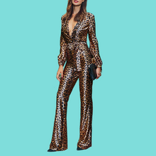 Load image into Gallery viewer, Cheetah Jumpsuit