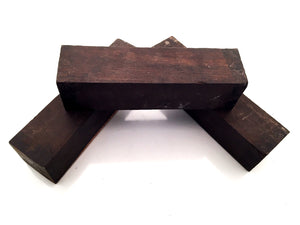 African Black Wood Blocks